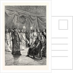 The Barons and Prelates Before King John at Westminster Hall by Anonymous
