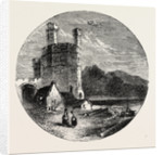 Eagle Tower Carnarvon Castle. by Anonymous