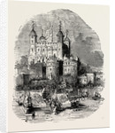 Procession Quitting the Tower London by Anonymous