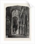 Westminster Abbey the Nave. by Anonymous
