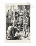 Henry V. Receiving the Keys of Harfleur. by Anonymous