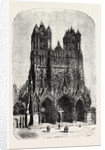 Rheims Cathedral. by Anonymous