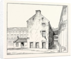 Edinburgh: The Library of the Old University As Seen from the South-East Corner of the Quadrangle Looking North by Anonymous
