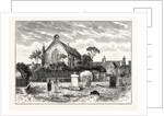 Edinburgh: Restalrig Church in the Present Day by Anonymous