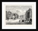 Edinburgh: Leith Walk from Gayfield Square Looking South by Anonymous