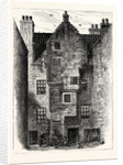 Edinburgh: Old House in Water's Close 1879 Leith by Anonymous
