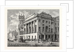 Edinburgh: The Town Hall and St. John's Established Church Leith by Anonymous