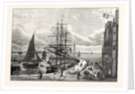 Edinburgh: Leith Pier and Harbour 1798 by Anonymous