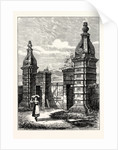 Edinburgh: Old Entrance to Royston (Now Caroline Park) 1851 by Anonymous