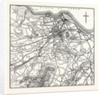 Map of the Environs of Edinburgh. by Anonymous