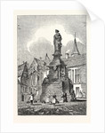 Statue of the Maid of Orleans at Rouen France by Anonymous