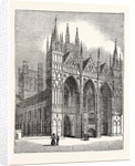 West Front of Peterborough Cathedral by Anonymous
