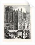 North-West View of Durham Cathedral by Anonymous