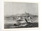The Island of Ceylon: Distant View of Adam's Peak from Fort Colombo Roads by Anonymous