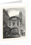 West Front of Temple Bar London by Anonymous