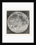 Telescopic Appearance of the Moon 1833 by Anonymous
