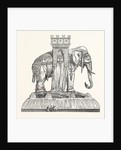 Design for the Fountain of the Elephant at Paris by Anonymous