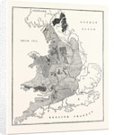 A Map Showing the Geological Position and Commercial Distribution of Coal in England and Wales by Anonymous