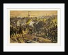 Assault on the Railway Dam Before Orleans by the First Bavarian Corps on 11 October 1870 by Anonymous