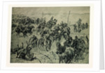 Artillery Fight in the Battle Near Gravelotte on the 18th of August, 1870 by Anonymous
