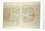 Map of the Universal Exposition of 1878 Paris by Anonymous