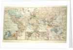 Old Map of the World by Anonymous