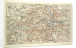 Old Map of London by Anonymous