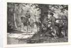 Capture of Andre, Horse, Horse Riding by Anonymous