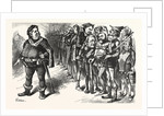 Falstaff Hancock His Ragged Regiment by Anonymous