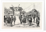 The Japanese Exhibition at Tokyo: Waiting for the Mikado's Arrival in the Exhibition Grounds, Japan by Anonymous