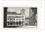 The Earthquake in Italy: Belluno, the Town Hall and the Bishop's Palace by Anonymous