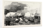 The German Manoeuvres in Schleswig-Holstein: Torpedo Boats Attacking a Squadron of Ironclads Off Flensburg by Anonymous