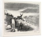 Deer Stalking in the Forest of the Black Mount, Argyllshire: The First Shot by Anonymous