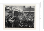 Sunday Afternoon in St. Giles', Tea at the Working Men's Christian Institute by Anonymous
