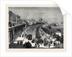 The Thames Embankment, Looking Towards St. Paul's, London by Anonymous