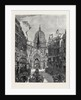 Sketch from Fleet Street: Looking Up Ludgate Hill, London by Anonymous