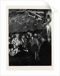 The Agricultural Strike: The Night Meeting of Farm Labourers at Wellesbourne, Warwickshire by Anonymous