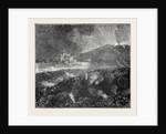 The Eruption of Mount Vesuvius: Professor Palmieri's Observatory by Anonymous