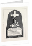 Memorial to Mr. L.G.E. Childers, Lost on Board H.M.S. Captain by Anonymous