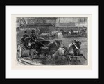 Four-in-Hand and Tandem Ponies at the Horse Show by Anonymous