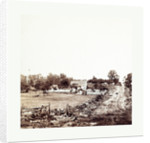 American Civil War: General Meade's Headquarters at Gettysburg, Eneral George G. Meade's Headquarters on Cemetery Ridge after the Battle at Gettysburg by Anonymous