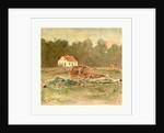 American Civil War: Dunkers (I.E. Dunker) Church, Battle Field of Antietam by Anonymous