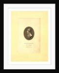 Oval Head-and-Shoulders Profile Portrait of French Balloonist and Parchutist A.J. Garnerin. by Anonymous