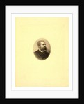 Gaston Tissandier, French Balloonist, Bust-Length Oval Portrait by Anonymous