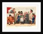 King Joe Disposing of His Spanish Crown, England, 1808, Shows King Joseph I Attempting to Auction Off His Crown. by Anonymous