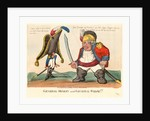 General Monkey and General Wolfe by Anonymous