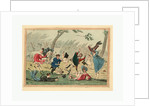 A High Wind in the Park! Engraving 1819 by Anonymous