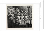 Choir of the French Church of the Savoy, Bloomsbury. Consisting of Girls of Huguenot Descent from the Westminster School. UK by Anonymous
