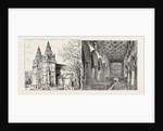 Aberdeen: Old Machar Cathedral, Exterior; Old Machar Cathedral, Interior. by Anonymous