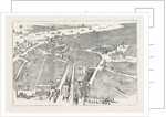 Bird's Eye View of. Liverpool, 1885 by Anonymous